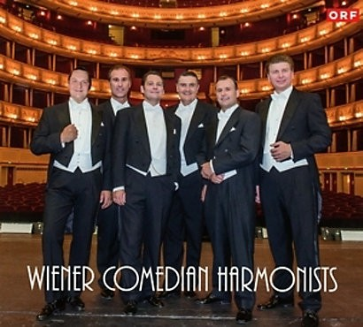 Musik CD Cover der 1. CD der Wiener Comedian Harmonists