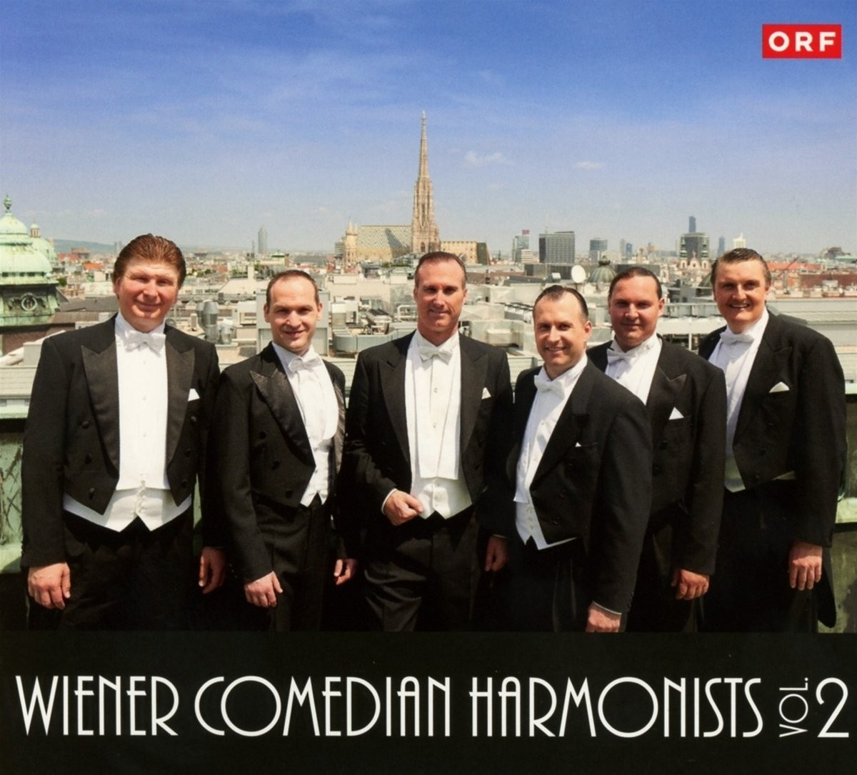 Musik CD Cover der 2. CD der Wiener Comedian Harmonists