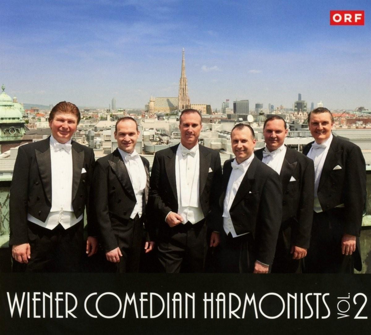 Musik CD Cover der 2. CD der Wiener Comedian Harmonists